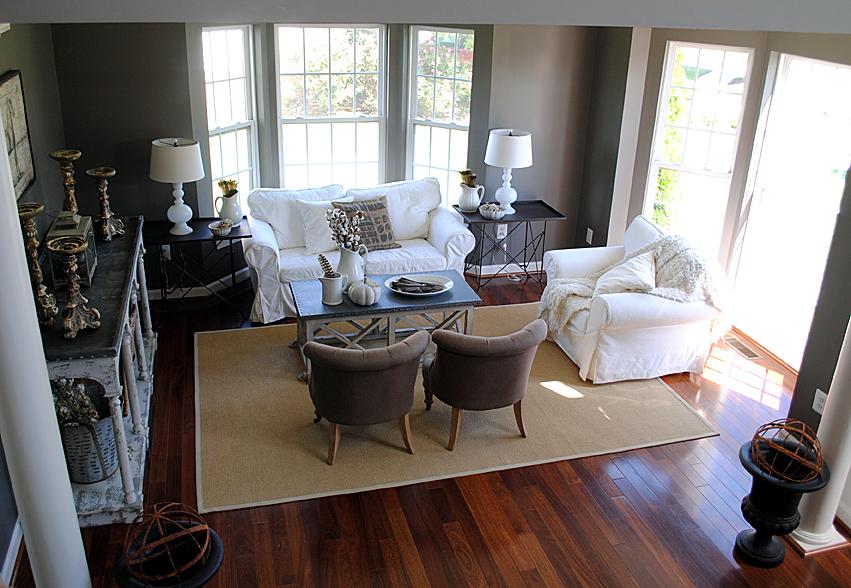 Fall Tour Living Room