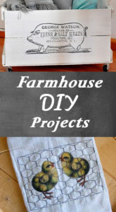DIY Farmhouse Style Projects