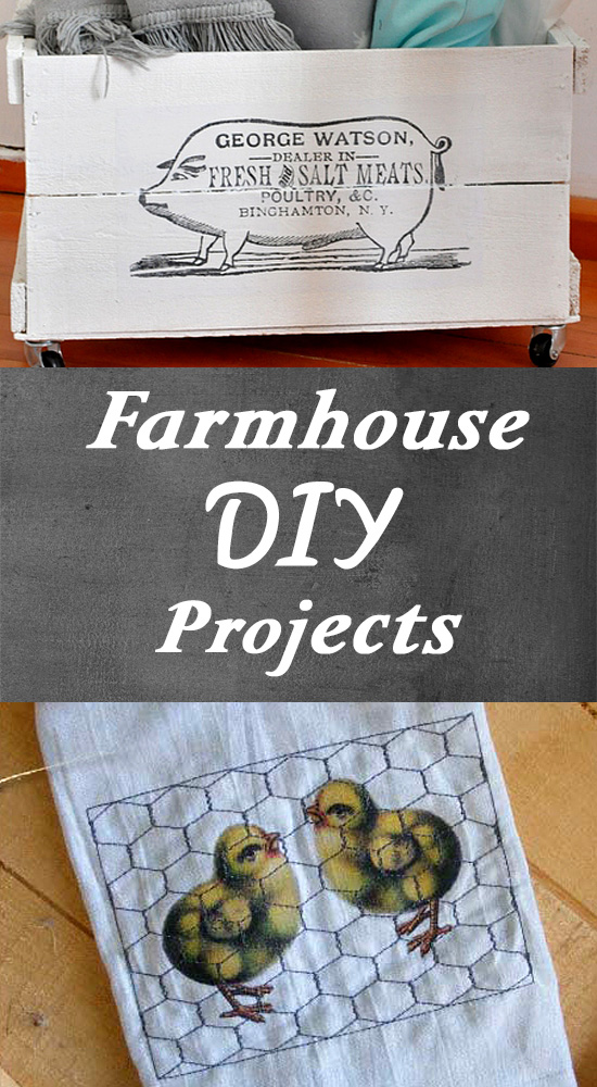 DIY Farmhouse Style Projects