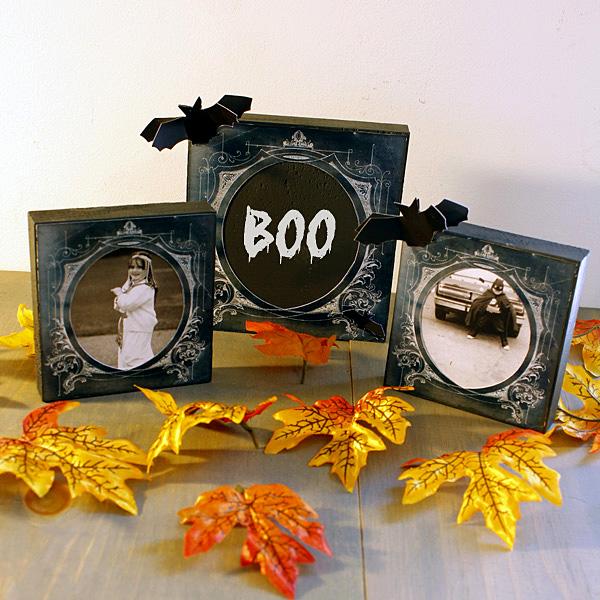 Halloween Chalkboard Frames