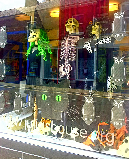 Homemade Halloween Window Decals - Reader Featured Project