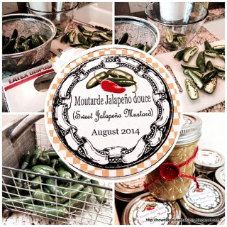 Sweet Jalapeno Mustard Labels – Reader Featured Project