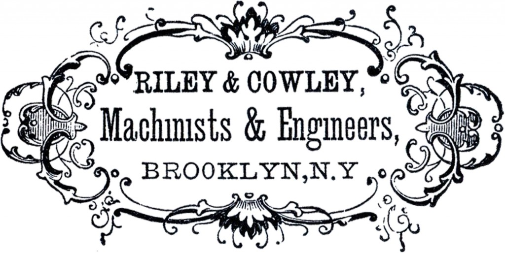 Old Advertising Label Image