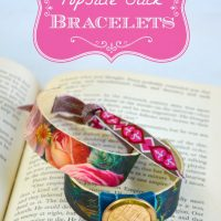 Popsicle Bracelets from Candie Cooper and The Graphics Fairy