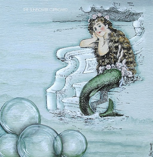 Vintage Mermaid Art Piece - Reader Featured Project