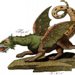 Vintage Dragon Image