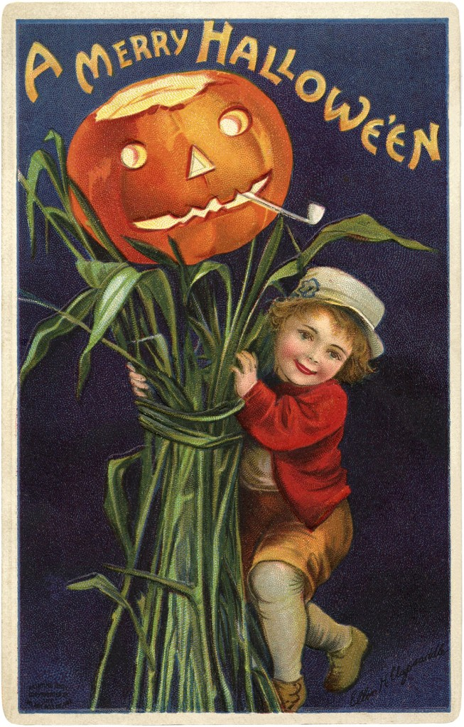 Vintage Jack O Lantern Image The Graphics Fairy