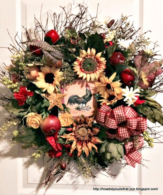 Beautiful Fall Wreath - Reader Featured Project