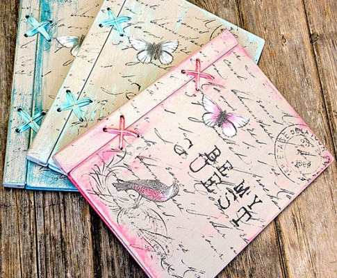 Handmade Guest Books – Reader Featured Project