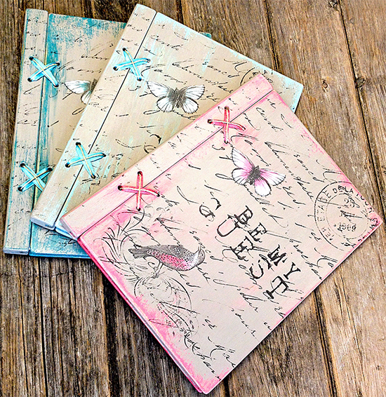 Handmade Guest Books - Reader Featured Project