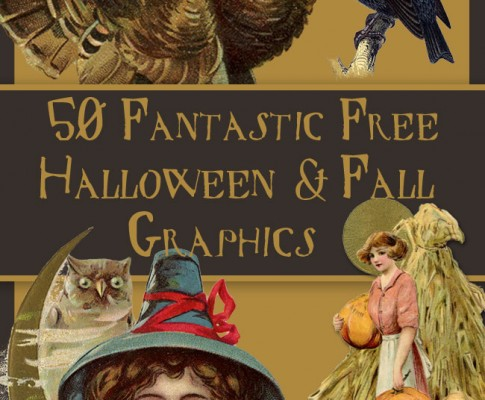 50 Fantastic Halloween and Fall Graphics!