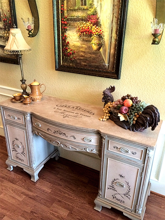 Duncan Phyfe Buffet Makeover - Reader Featured Project