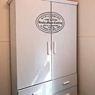 Milk Paint Armoire - Reader Featured Project
