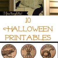 10 Halloween Printables