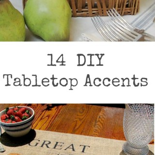 14 DIY Tabletop Accents