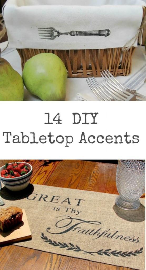 14 DIY Tabletop Accents
