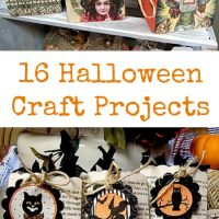 16 Halloween Craft Projects