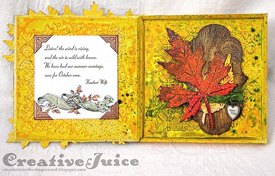 Autumn Keepsake Album - Reader Featured Project