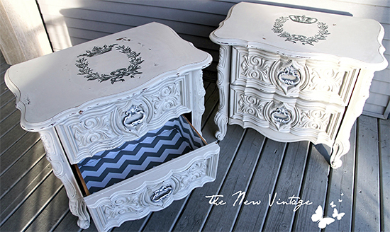 Painted Nightstands - Reader Featured Project