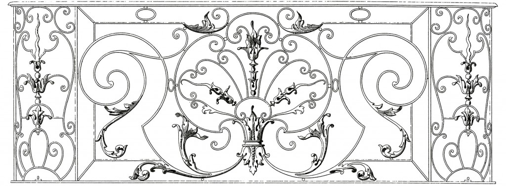Fancy French Iron Work Image