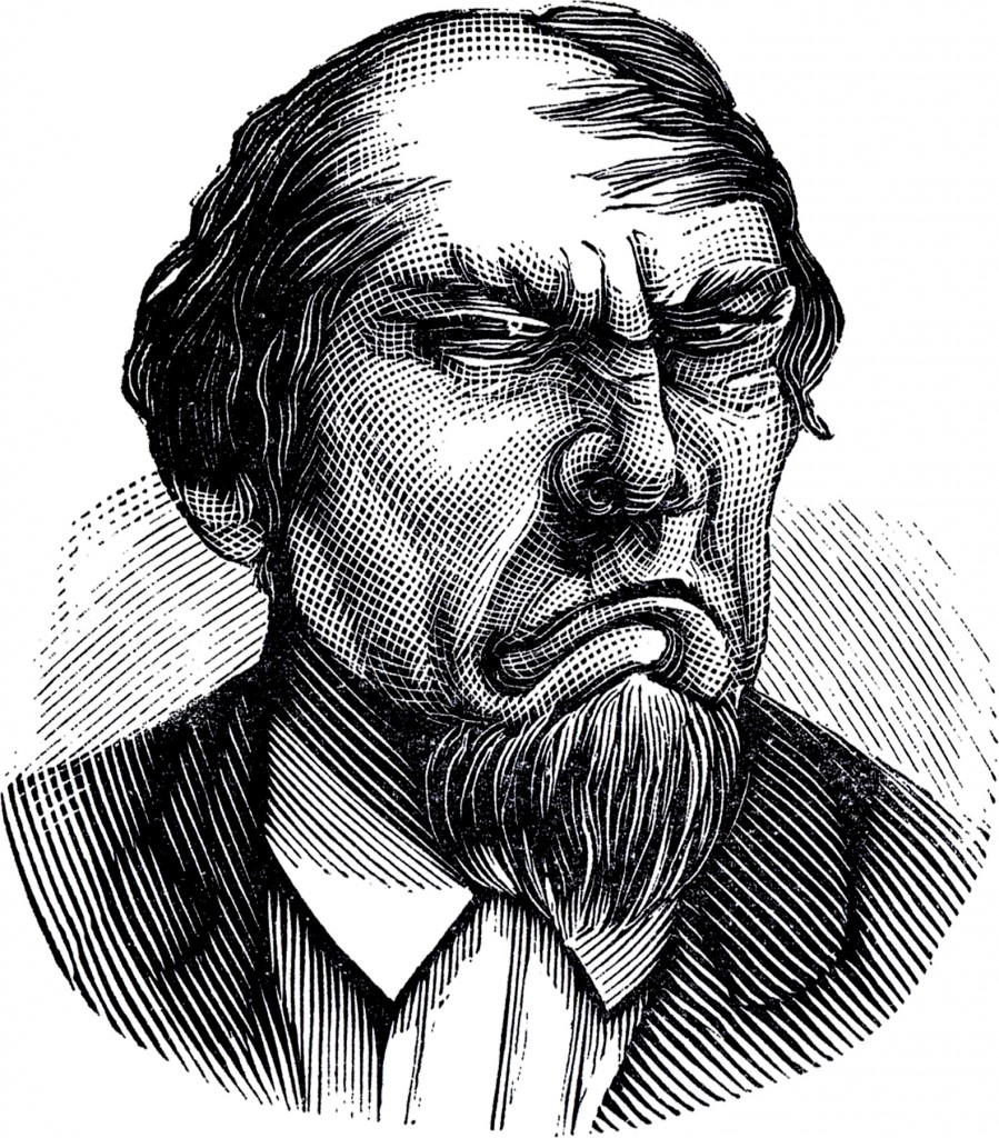 Grumpy Man Image
