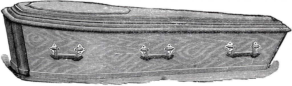 Vintage Casket Image