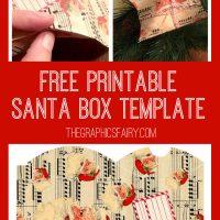 santa box graphics fairy