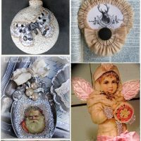 24 DIY Vintage Ornaments