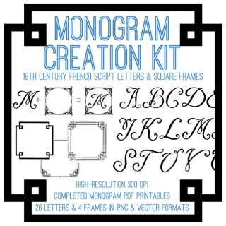 Fabulous Monogram Creation Kit – Premium Membership!