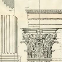 Architecture Printable Corinthian Columns