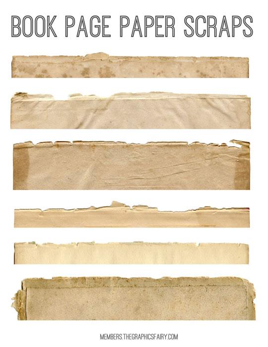 Antique Scraps Kit