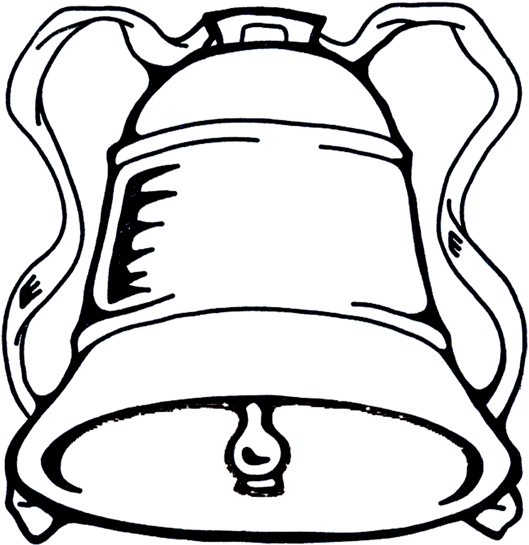 Church Bells Ringing On Our Wedding Day: Christmas Bell Image!