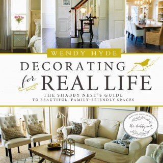 Book Review – Decorating for Real Life – The Shabby Nest!