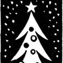 Funky Retro Christmas Tree