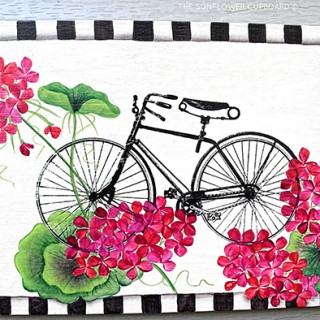 Bicycle Wall Art – Reader Featured Project