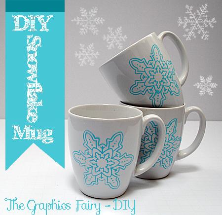 MugsSnowflake-GraphicsFairyDIY1b