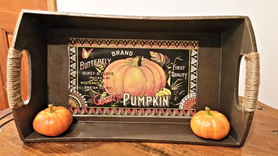 Pumpkin Farmhouse Tray - Reader Featured Project
