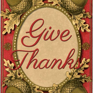 Give Thanks Printables – Lovely!