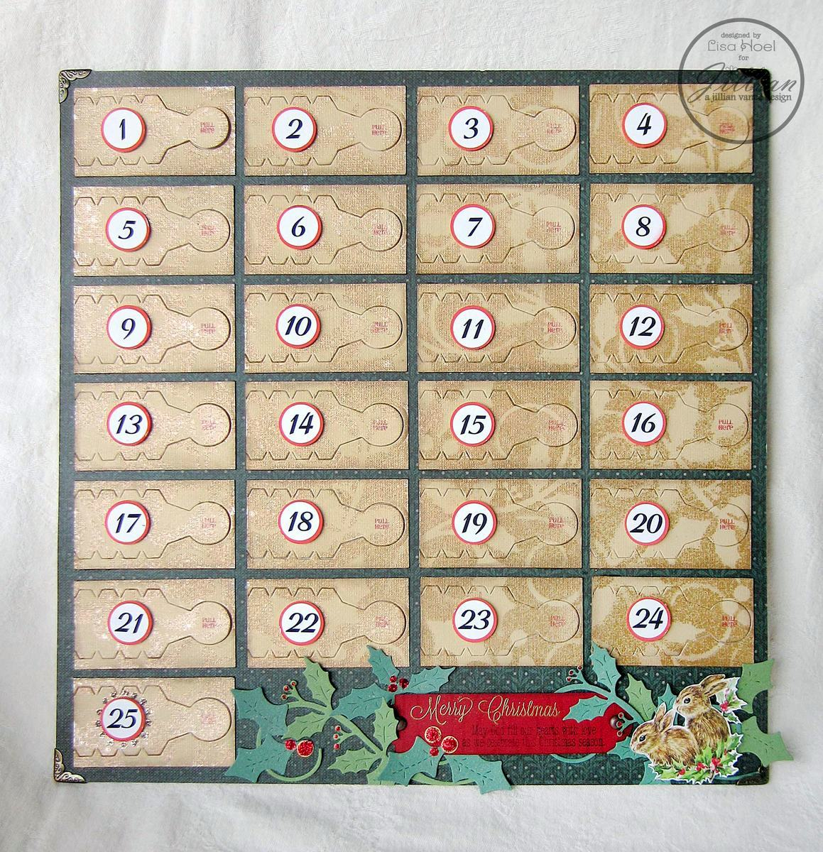 Diy Christian Advent Calendar : Diy advent calendar reader feature the graphics fairy