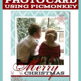 Create a Holiday Photo Card in PicMonkey