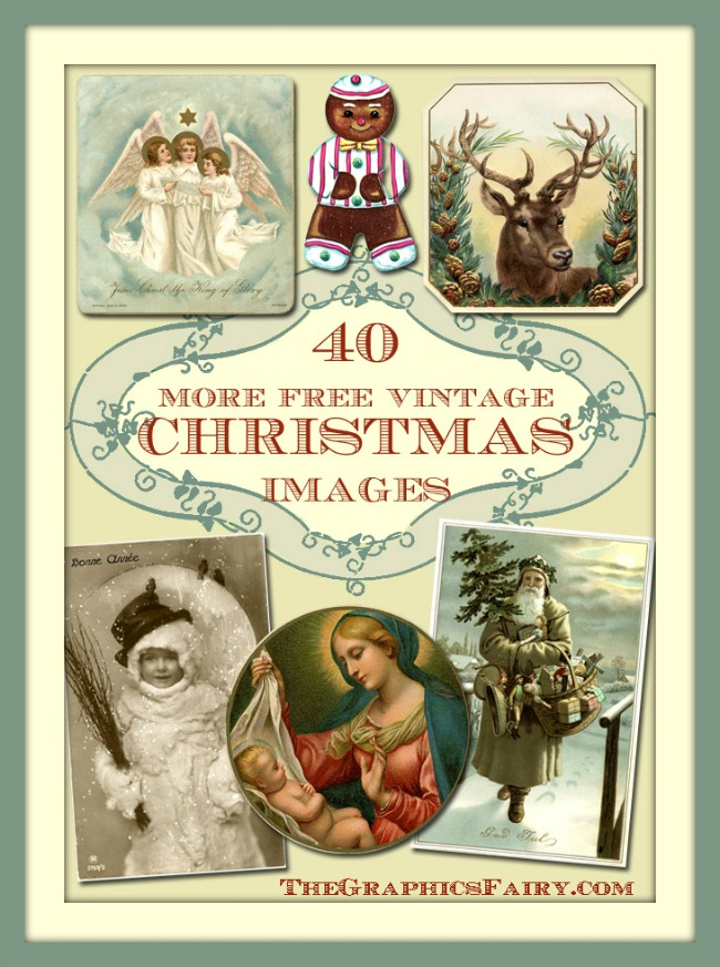 40 Free Christmas Images  //  The Graphics Fairy