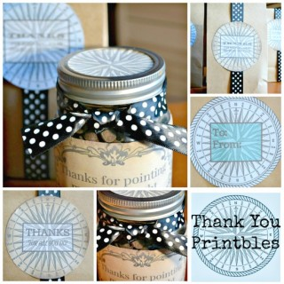Thank You Printables – Reader Featured Project
