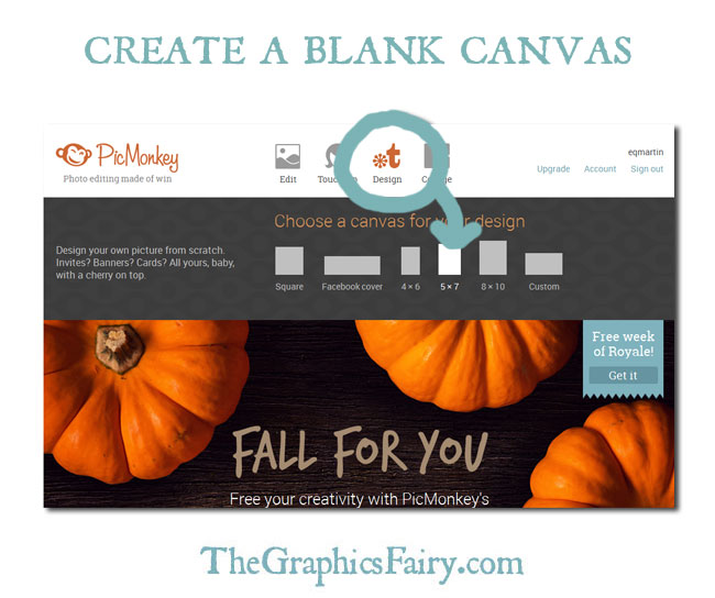 Create a Holiday Photo Card in PicMonkey // The Graphics Fairy