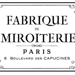 Parisian Factory Furniture Transfer!