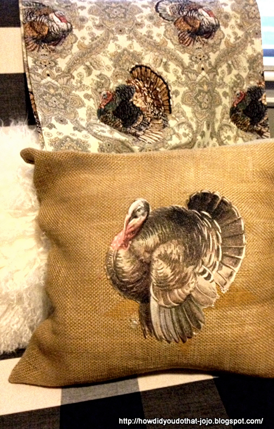 Turkey Pillow - Reader Featured Project