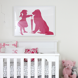 Nursery Wall Art – Reader Featured Project