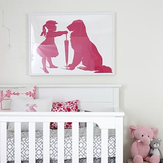 Nursery Wall Art – Reader Featured Project