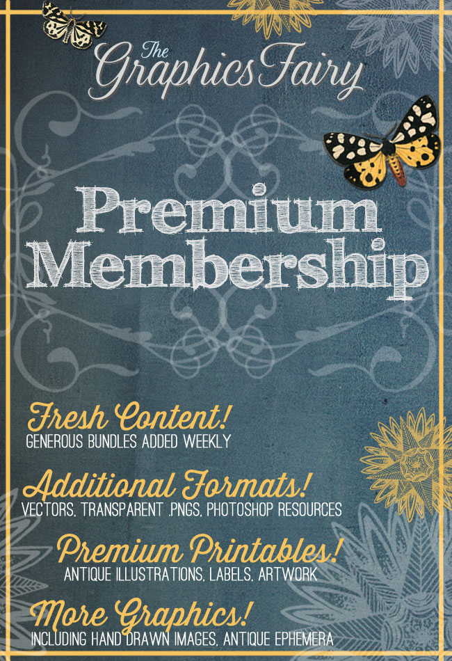 Graphics Fairy Premium Membership