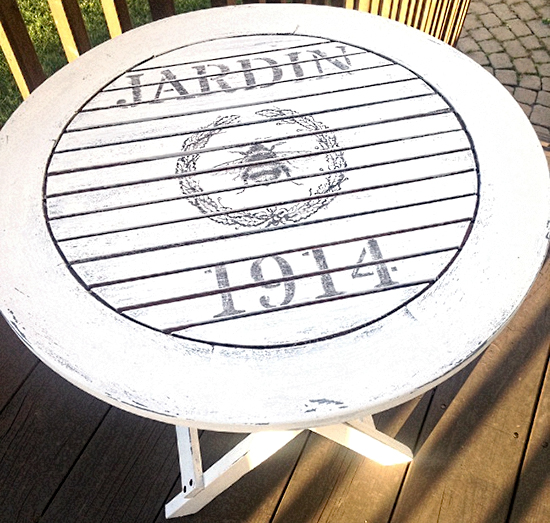 17 transfer projects tables the graphics fairy - Table jardin vintage montpellier ...