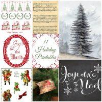 11 Holiday Printables